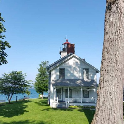 The Sodus Point lighthouse museum
