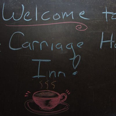 At the Carriage House Inn, you will receive a warm welcome!
