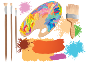 artists-palette-and-brushes-vector_fktGhgv_